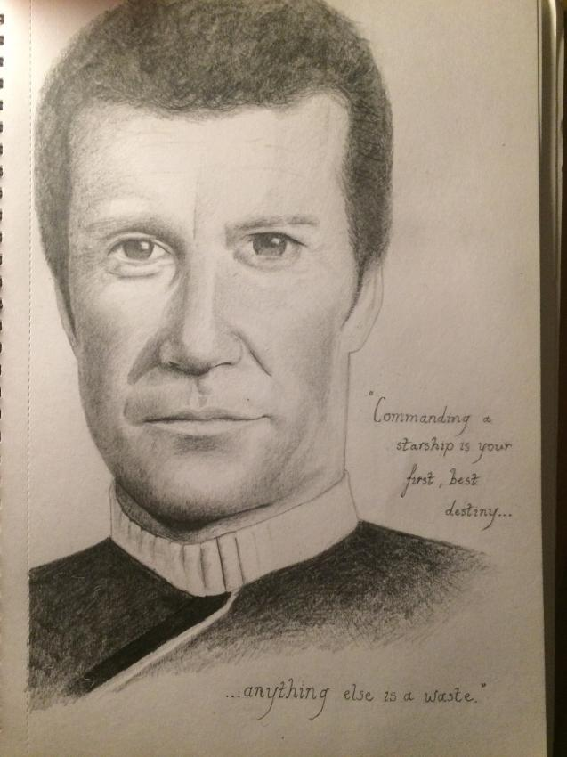 William Shatner by Lcjartwork